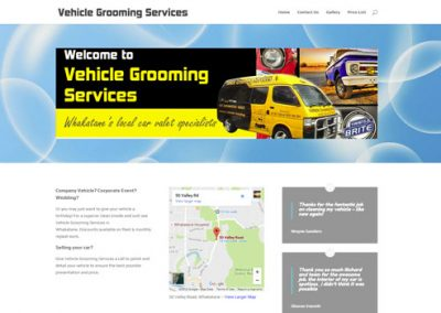 "Vehicle Grooming Services <a href=""http://vgs.co.nz"">Visit Site</a>"