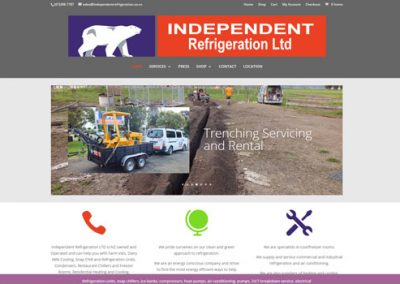 "Independent Refrigeration <a href=""http://independentrefrigeration.co.nz"">Visit Site</a>"
