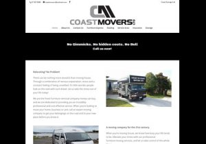 Coast Movers Pro Website