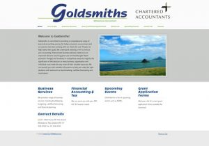 Goldsmiths Chartered Accountants Pro Website