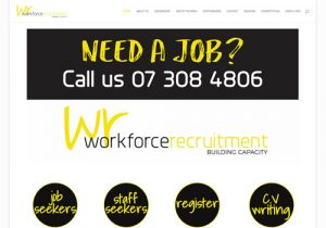 Workforce Recruitment, Employer and Employee Recruitment Agency Pro Website