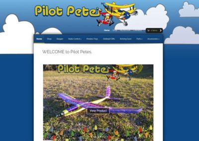 "Pilot Petes RC and Model Shop <a href=""http://pilotpetes.nz"">Visit Site</a>"